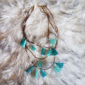Express Boho Tassel Necklace